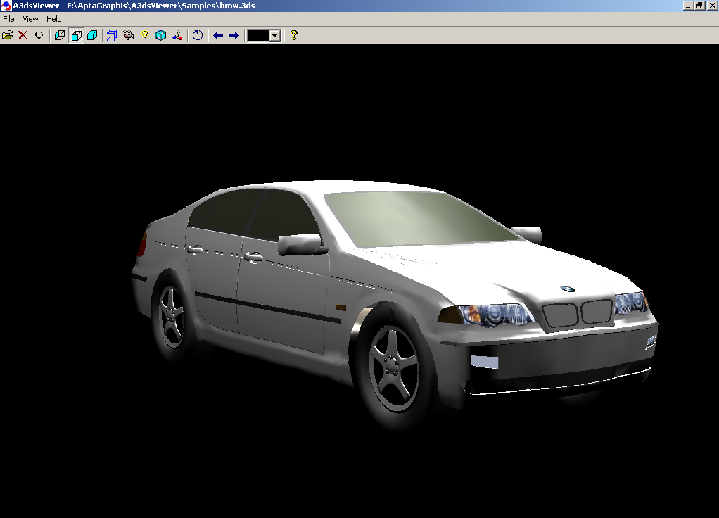 Click to view A3dsViewer 1.7 screenshot